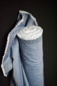 Merchant & Mills Cotton Chambray- Light Blue Denim -$32.00/metre