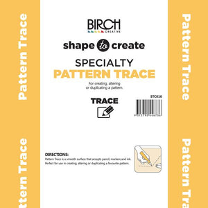 Shape to Create - Specialty Pattern Trace