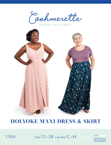 Cashmerette Patterns Holyoke Dress