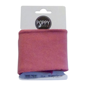 Rib Cuffs- Rose by Poppy Design for you