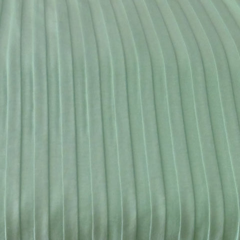 Organic Ribbed Jersey broad- Spearmint