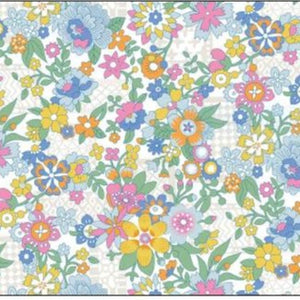 Liberty of London Viscose- Floral Waltz  -25cm