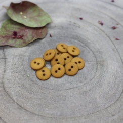 Atelier Brunette Matt Buttons- Ochre - 10mm