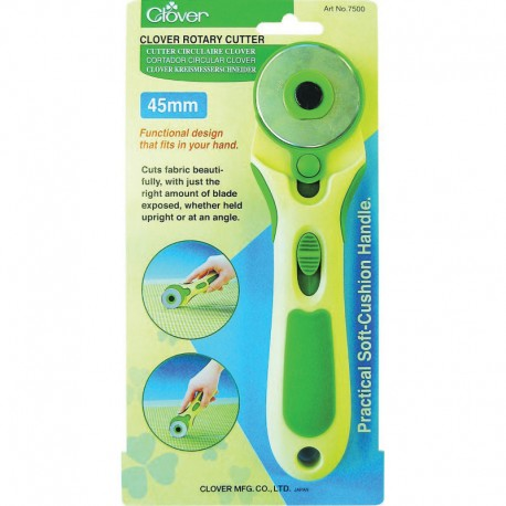 CLOVER ROTARY CUTTER 45MM