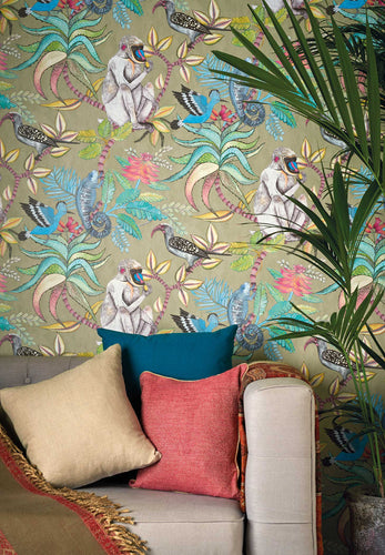 Cole and Son Savuti Mural wallpaper