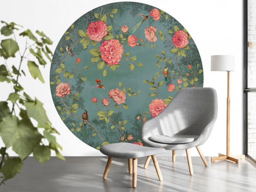 BN wallcoverings Moonlight Garden Blue