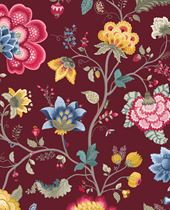 Load image into Gallery viewer, Burgundy Floral Mural Pip Studio