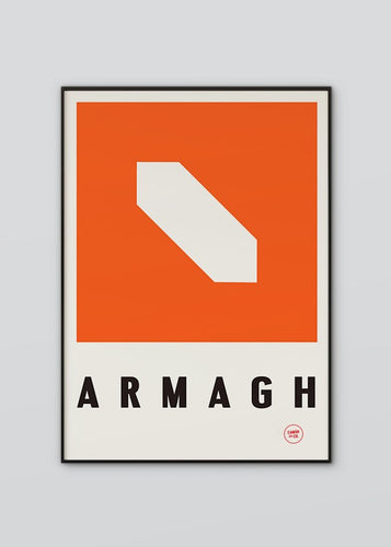 Sport Inspired High Quality Print County Armagh
