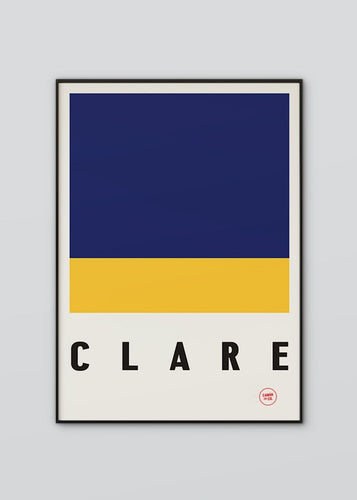 Sport Inspired High Quality Print County Clare
