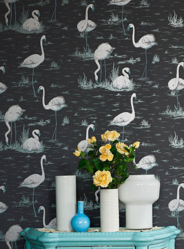 Cole and Son Wallcoverings Flamingos