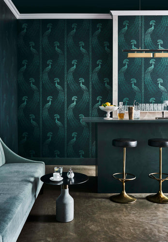 Cole and Son Wallcoverings Pavo Parade The pearwood collection