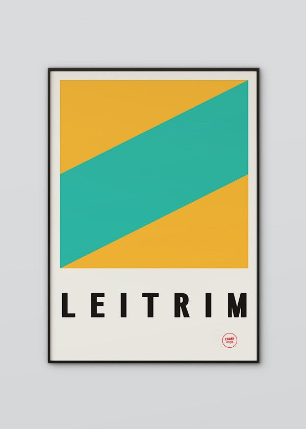 Sport Inspired High Quality Print County Leitrim