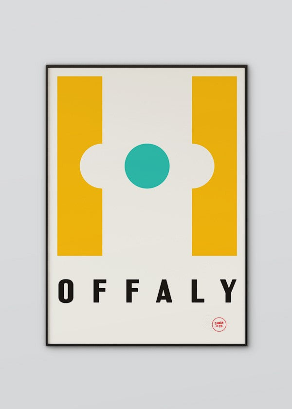 Sport Inspired High Quality Print County Offaly