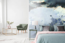 Load image into Gallery viewer, Tektura Talk Cloudburst Thunder by CUSTHOM Wallcovering