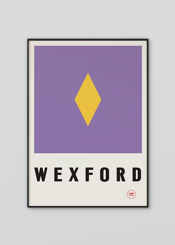 Sport Inspired High Quality Print County Wexford