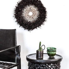 Load image into Gallery viewer, Boho black JUJU Feather - Wall hanging | Iconic Online |