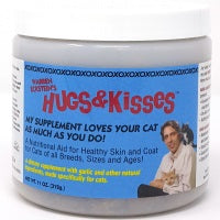 Hugs & Kisses Vitamin Mineral Supplement Treats for Cats Small Jar