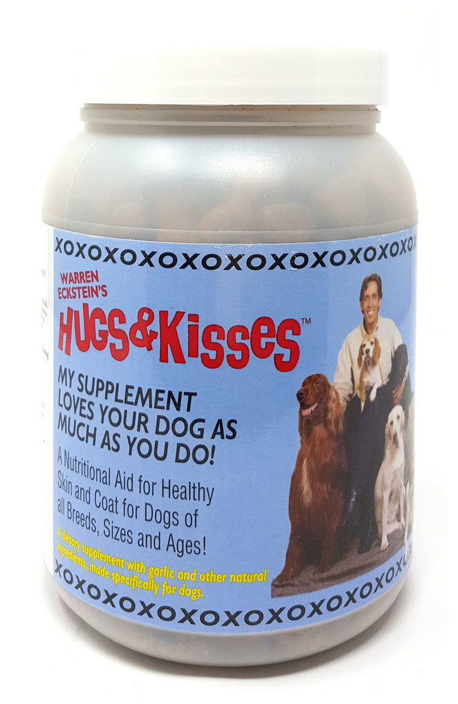 Hugs & Kisses Vitamin Mineral Supplement Treat for Dogs Large Jar
