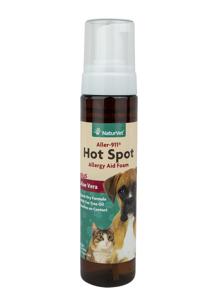 Aller 911 Hot Spot Foam - The Pet Show Store