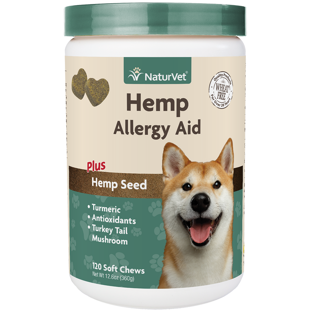 HEMP Allergy Aid 120 Soft Chews
