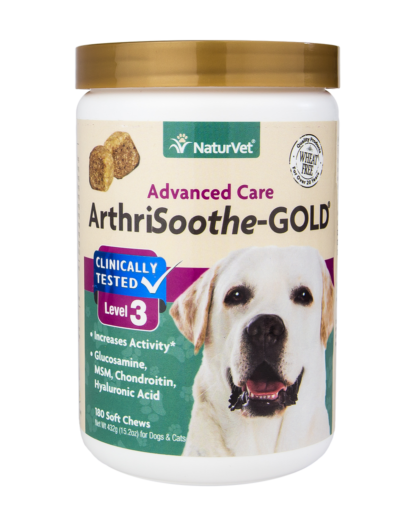 ArthriSoothe-GOLD Stage 3 Arthritis & Joint Care 180ct Soft Chews - The Pet Show Store
