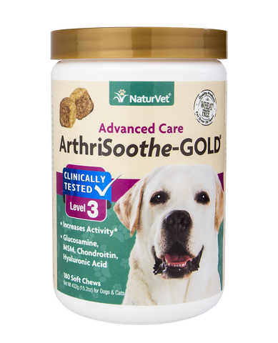 ArthriSoothe-GOLD Stage 3 Arthritis & Joint Care 180ct Soft Chews