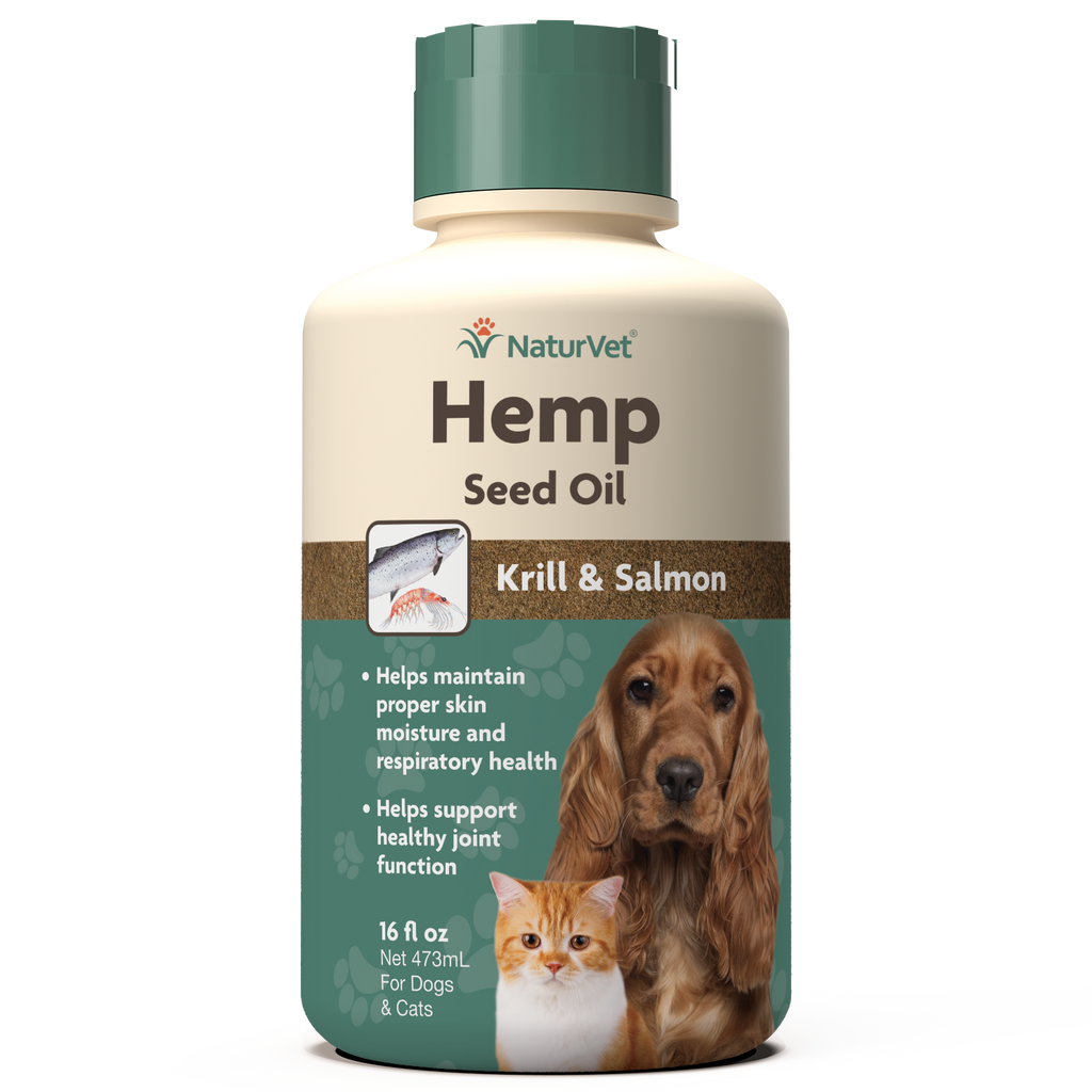 Hemp Seed Oil with Krill and Salmon