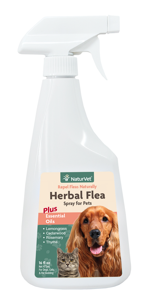 Herbal Flea Spray for Pets - The Pet Show Store