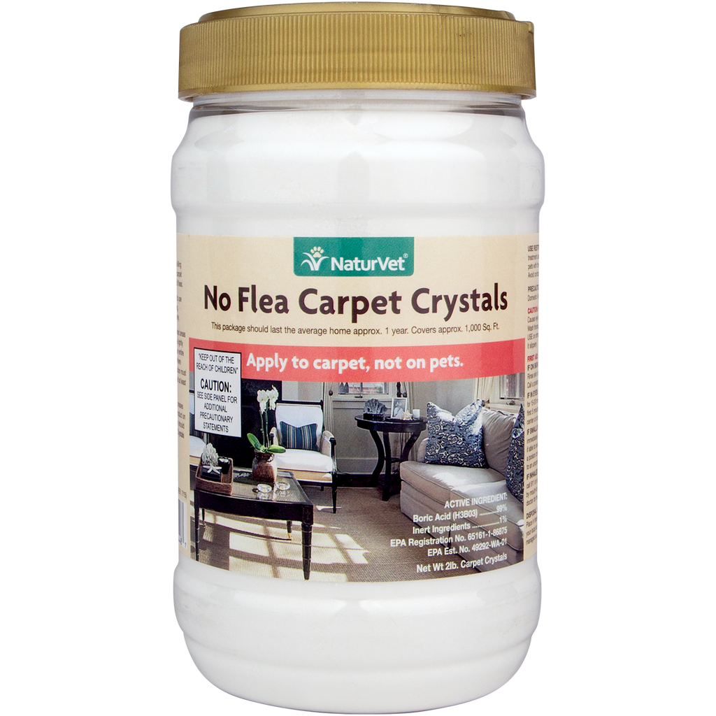 No Flea Carpet Crystals - The Pet Show Store