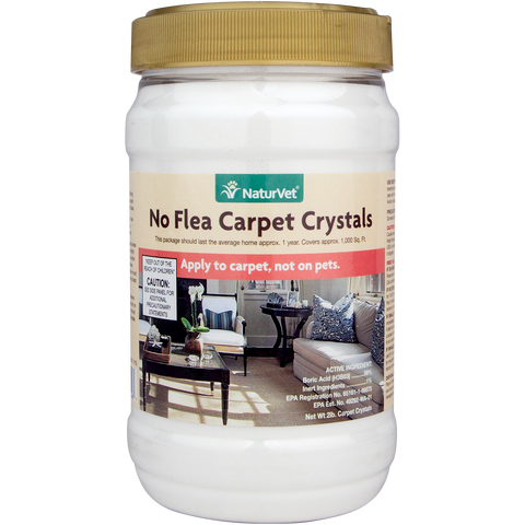 No Flea Carpet Crystals