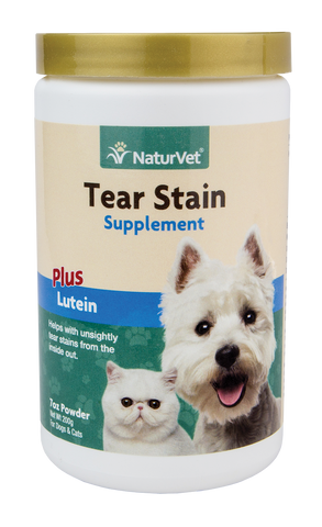 Tear Stain Supplement for Dogs & Cats