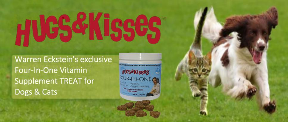Warren Eckstein's Hugs and Kisses Vitamin Mineral Supplement for dogs and cats