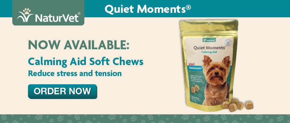 NaturVet Quiet Moments Calming Aid Calm Down