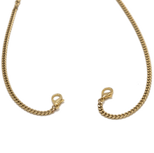 Load image into Gallery viewer, GOLD CUBAN LINK CHAIN - 4mm