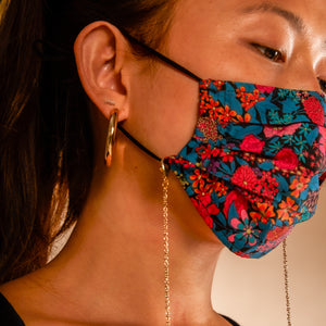 DANA - HANDMADE 100% COTTON REUSABLE FACE MASK