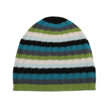 Load image into Gallery viewer, STRIPED CASHMERE SLOUCHY HAT IV