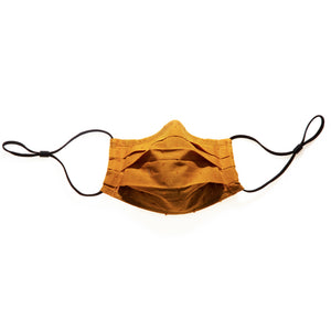 MUSTARD - HANDMADE 100% COTTON REUSABLE FACE MASK