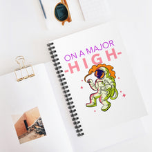 Load image into Gallery viewer, On A Major High Spiral Journal - The CannaButta Shop