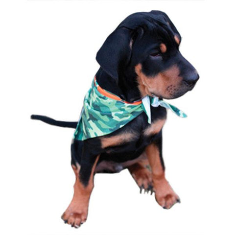 Vapor Sublimation Blank Dog Bandana - 25 x 7.25