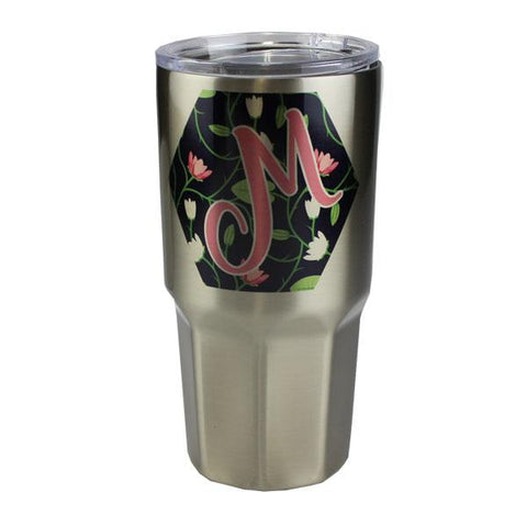 Luma Steel™ Sublimation Blank Stainless Steel Tumbler - 30oz - Octagon Base - Silver
