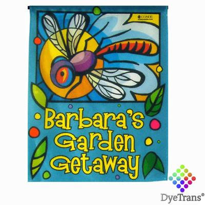 "DyeTrans Sublimation Blank Garden Flag - 11"" x 15"" - Single-Ply - No Pole"