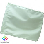 "DyeTrans Sublimation Blank Car Flag - 11"" x 15"" - Double-Ply - No Pole"