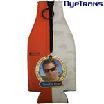 DyeTrans Sublimation Blank Neoprene Bottle Hugger w/Zipper - Fits 12oz Bottle