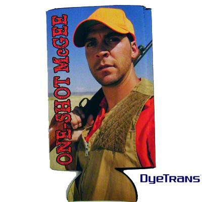DyeTrans Sublimation Blank Scuba Foam Can Hugger - Fits 24oz Can