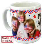 DyeTrans Sublimation Blank Ceramic Mug - Made In USA - 11 oz