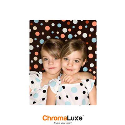 "ChromaLuxe Sublimation Blank Aluminum Photo Panel - 8"" x 10"" - Matte White"