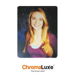 "ChromaLuxe Sublimation Blank Aluminum Photo Panel - 11"" x 14"" - Matte Clear"