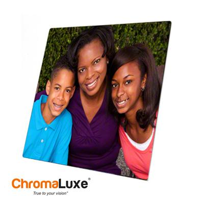 "ChromaLuxe Sublimation Blank Aluminum Photo Panel - 15"" x 18.75"" - Gloss White"
