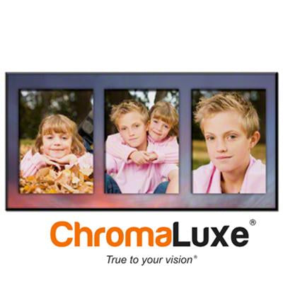 "ChromaLuxe Sublimation Blank MDF Photo Panel - 9"" x 18"" - Chamfer Edge - Gloss White"