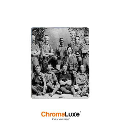 "ChromaLuxe Sublimation Blank Aluminum Photo Panel - 5"" x 7"" - Matte Clear"